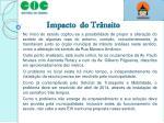 impacto do tr nsito1