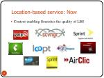location based service now2