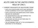 acute care in the united states role of ltac s