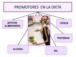 promotores en la dieta