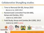 collaborative shangring studies