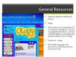 general resources15