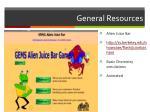 general resources26