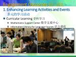 engagement outcomes 1 enhancing learning activities and events
