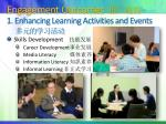 engagement outcomes 1 enhancing learning activities and events1