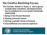 the creative mentoring process