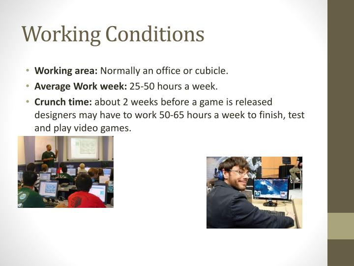 PPT My Career Research PowerPoint Presentation ID - Video game designer working conditions