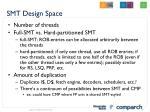 smt design space