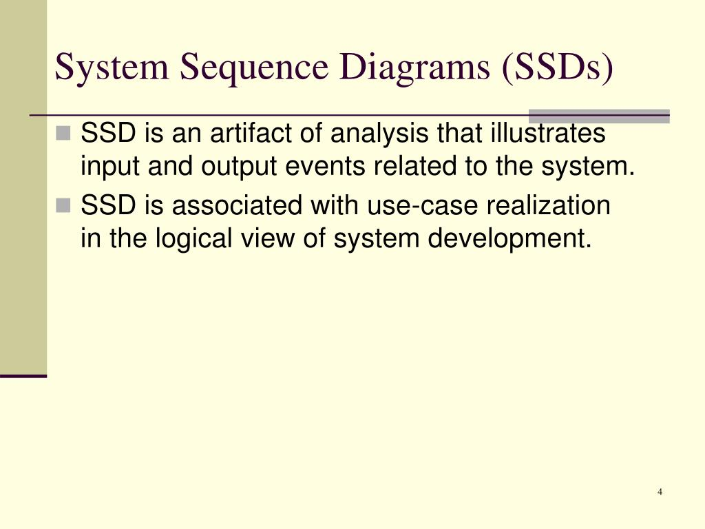 PPT - Drawing System Sequence Diagrams PowerPoint ...