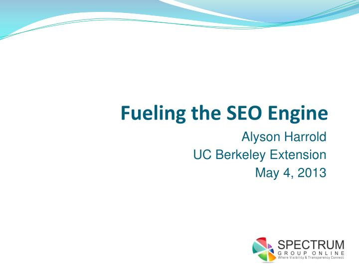 fueling the seo engine n.