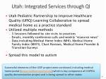 utah integrated services through qi