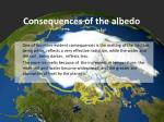 consequences of the albedo