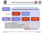 igss overall overview continued