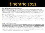 itiner rio 20122