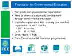 foundation for environmental education