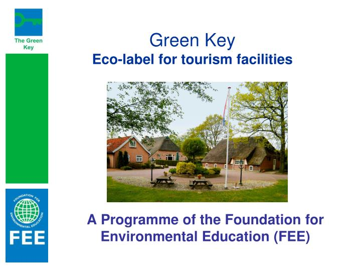 green key eco label for tourism facilities n.