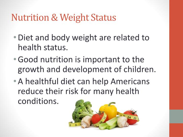 ppt nutrition and weight status powerpoint presentation id 6504571
