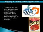 blogging creating further opportunities5