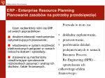 erp enterprise resource planning planowanie zasob w na potrzeby przedsi wzi1