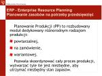 erp enterprise resource planning planowanie zasob w na potrzeby przedsi wzi10