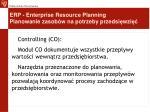 erp enterprise resource planning planowanie zasob w na potrzeby przedsi wzi5