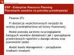 erp enterprise resource planning planowanie zasob w na potrzeby przedsi wzi6