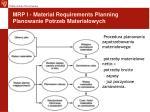 mrp i material requirements planning planowanie potrzeb materia owych1