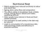 nutritional reqt