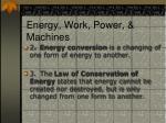 energy work power machines1
