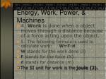 energy work power machines2