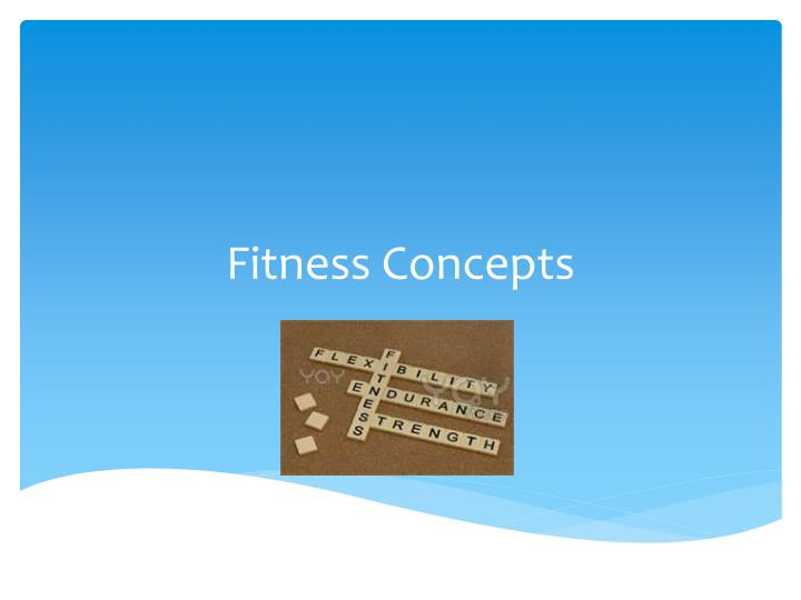 fitness concepts n.