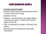 case examples cont1