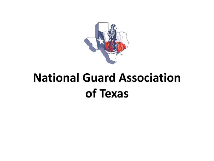 national guard association of texas n.