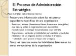 el proceso de administraci n estrat gica6