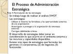el proceso de administraci n estrat gica8