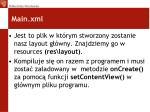 main xml