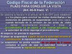 c digo fiscal de la federaci n13