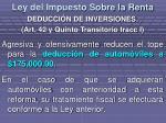 ley del impuesto sobre la renta10