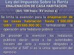 ley del impuesto sobre la renta15