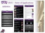 itcu suite of applications2