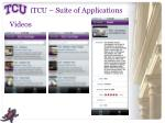 itcu suite of applications7
