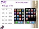 why the iphone1