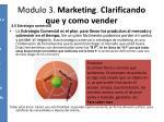 modulo 3 marketing clarificando que y como vender5