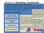 modulo 3 marketing clarificando que y como vender8