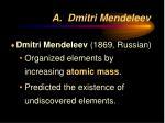a dmitri mendeleev