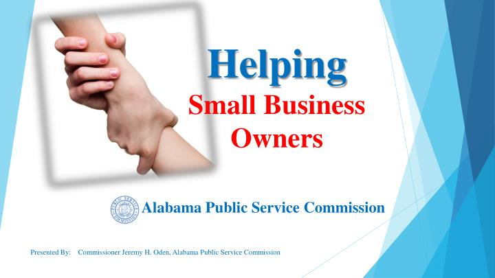 helping small business owners n.