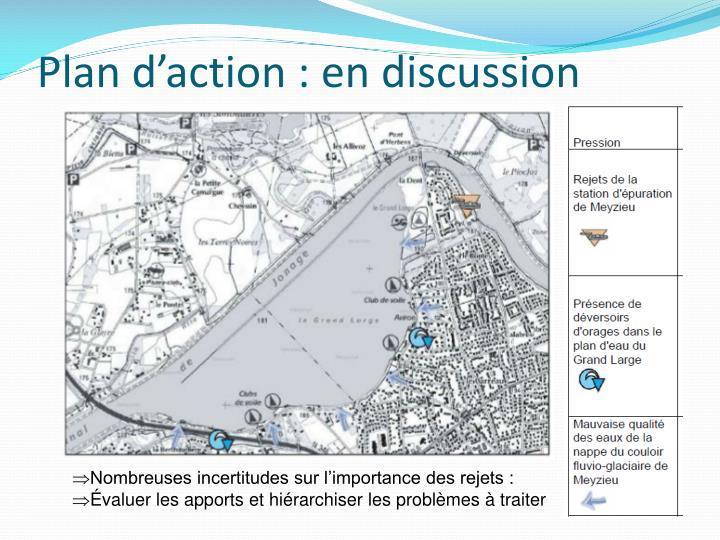 Plan d'action : en discussion