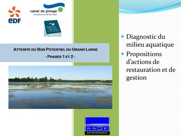 Diagnostic du milieu aquatique
