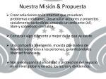 nuestra misi n propuesta