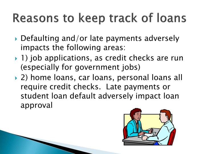 Reasons to keep track of loans